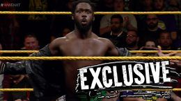 Rich Swann injured shoulder cruiserweight classic wwe nxt wrestling wrestler