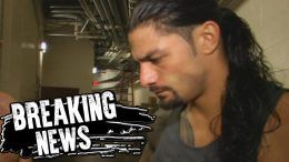 Roman Reigns suspended wellness violation policy wwe wrestler wrestling