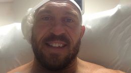 ryback ear sugery photo wwe wrestler contract