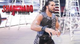 Sharknado Seth Rollins WWE wrestling wrestler movie lands role cast