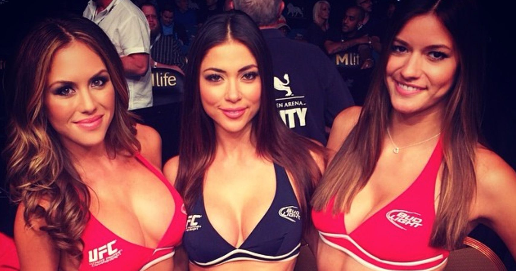 Top 15 Hottest UFC Octagon Girls Of All-Time