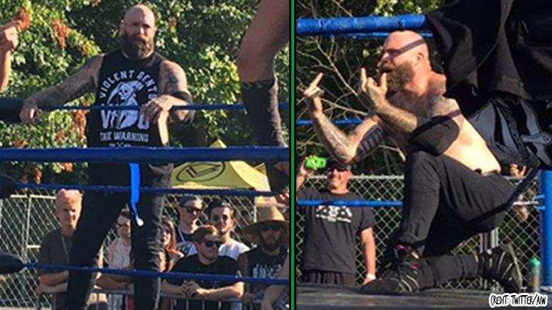 every time guitarist andy williams warped tour return injury wrestling wrestler