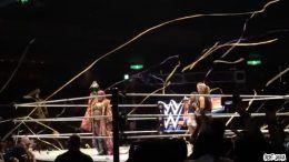 Asuka Streamers video wwe wrestling japan tokyo nxt