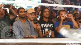 aziz ansari wwe madison square garden front row tickets wrestling