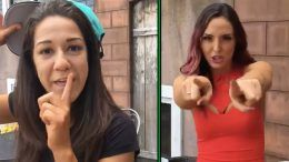 Bayley Peyton Royce John Cena rap battle video nxt