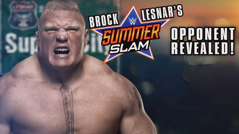 summerslam brock lesnar randy orton match ufc 200 mark hunt wrestling wrestler