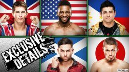 cruiserweight classic more wrestlers offered contracts zack sabre cedric alexander tj perkins noam dar jack gallagher