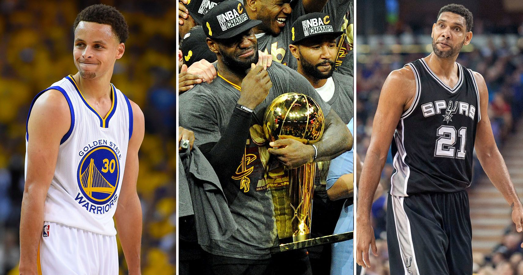 Ranking The Starting Five Players Of The Last Three NBA Champions