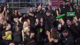 finn balor nxt superstars react cheer wwe draft wrestler wrestling first round