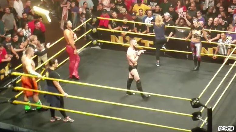 nxt Finn balor goodbye video bayley carmella mojo nia jax wwe wrestling wrestler live event curtain call