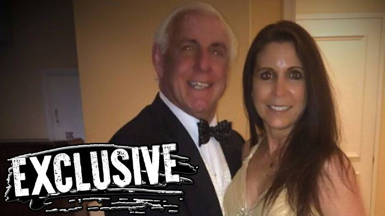 ric flair engaged wendy barlow fifi the maid wcw valet fifth