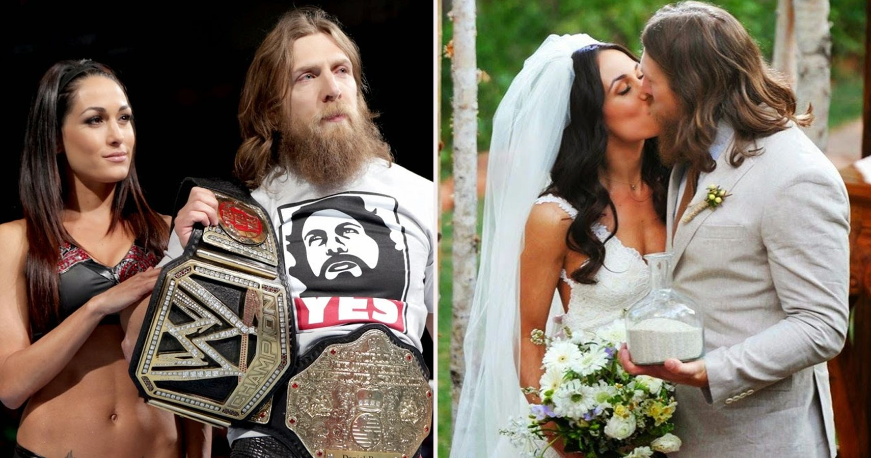 Top 15 WWE On-Screen Pairings That Became Real-Life Relationships
