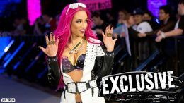 Sasha Banks back wwe summerslam wrestling womens championship title charlotte raw injury injured doctor
