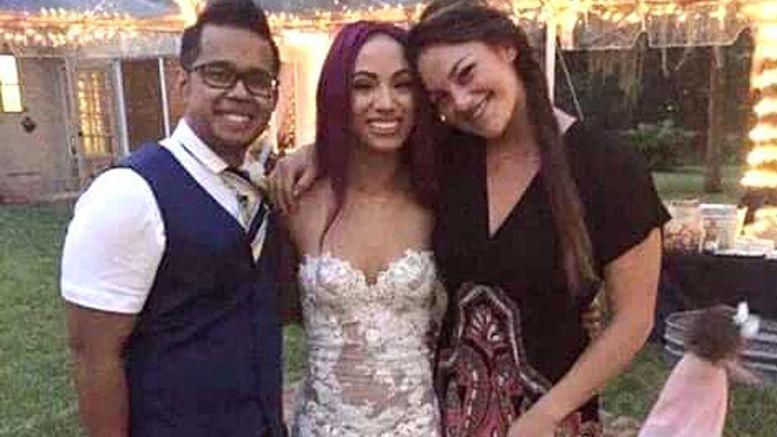 sasha banks wedding