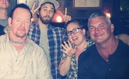 Undertaker Shane McMahon reunion reunite wrestlemania 33 raw wrestling wrestler wrestlers wwe bar photo pictures