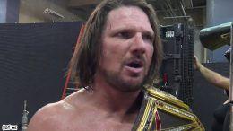 AJ Styles Backlash wins title wwe championship history wrestling wrestler tna iwgp