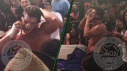 rhodes cody mask pwg debut bola wrestling battle of los angeles