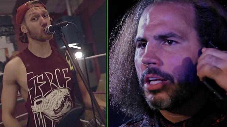 mandrews broken matt hardy wrestling pop punk band fall to pieces mark andrews junior