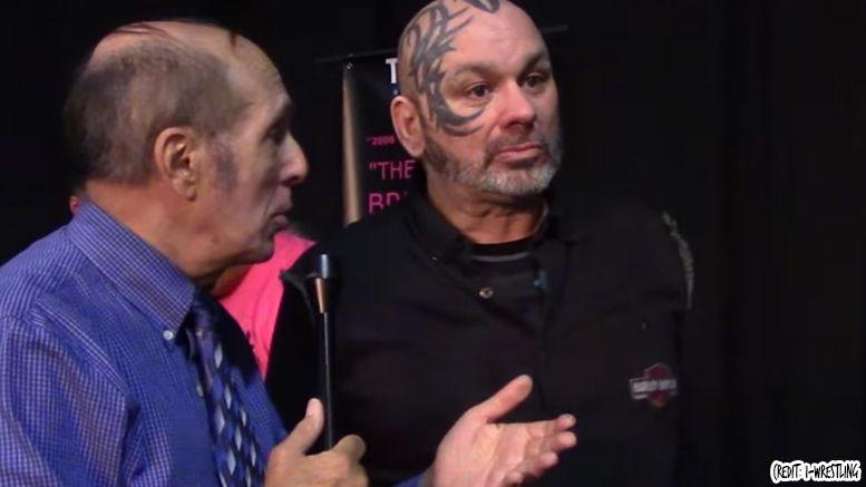 perry saturn brain injury traumatic bill apter interview wrestler wrestling