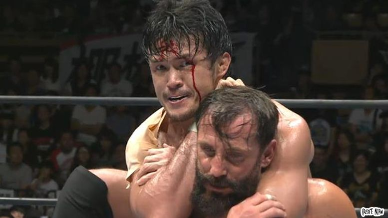 shibata spinal injury njpw wrestling wrestler destruction tour