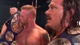 heath slater rhyno win tag titles smackdown backlash results dollywood