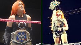 becky lynch back from injury returns no mercy alexa bliss sioux city wrestling wrestler smackdown womens champion