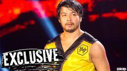 hideo itami injured months wwe nxt live event wrestling wrestler video
