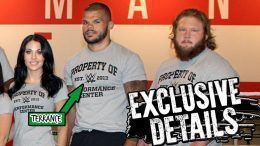 Terrance Jean-Jacques arrested suspended wwe nxt pregnant girlfriend physical