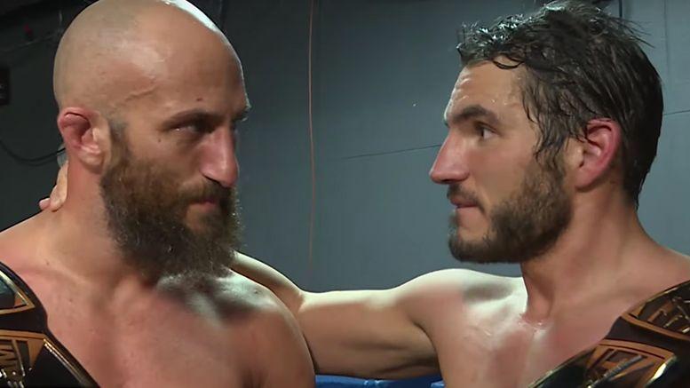 nxt tag title #diy nxt takeover toronto johnny gargano tommaso ciampa wrestling wwe