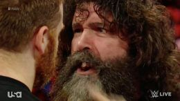 teeth mick foley raw fall out video raw wwe wrestling