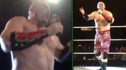 mojo rawley arabic promo wrestling wrestler hype bros saudi arabia wwe