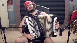 accordion sami zayn theme song wwe wrestler wrestling