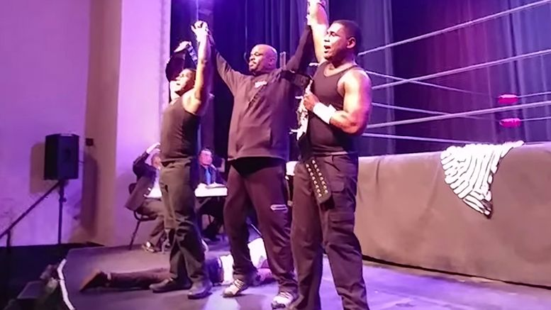 dvon dudley sons tag team gold match video win help