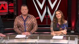 removed pre show panel jerry lawler lita wwe