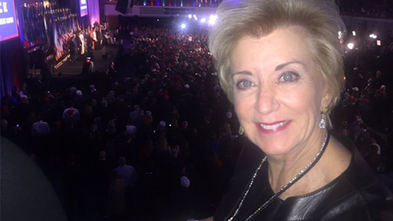 linda mcmahon joins donald trump cabinet wrestling wwe vince