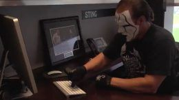 dallas cowboys sting intimidation coach video spoof wwe wrestler wrestling football