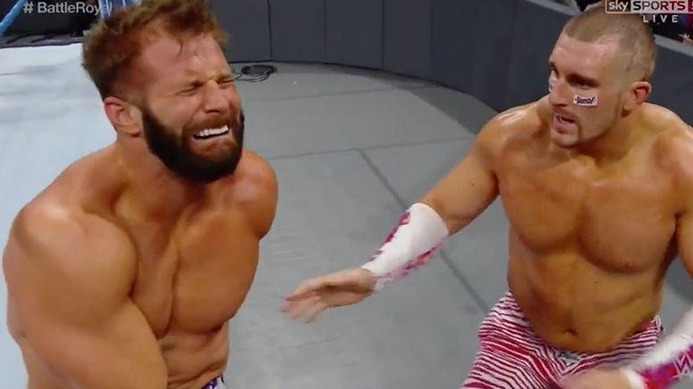 zack ryder injured smackdown live video wrestler wrestling tag title
