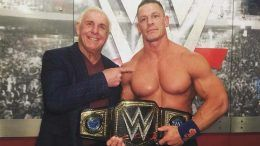 title record ric flair john cena reaction video royal rumble results