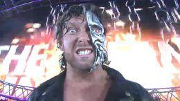 kenny omega wrestle kingdom 11 entrance terminator video