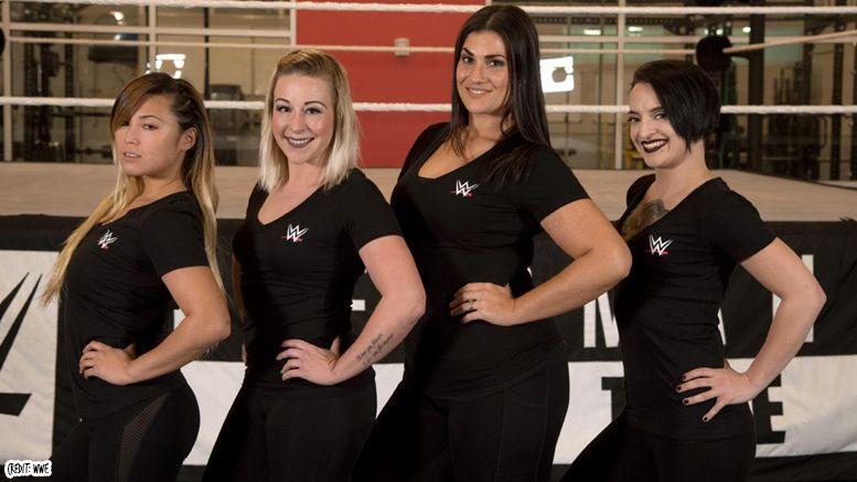 Kimber Lee Heidi Lovelace wwe signed contract deal wrestling wrestler
