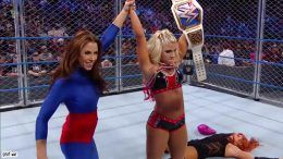 mickie james, returns, wwe, wrestling, la luchadora, video, smackdown live, alexa bliss, becky lynch