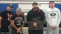 rey mysterio son wrestle wrestler training