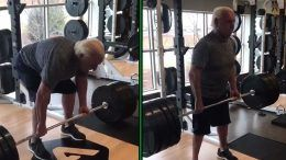 ric flair deadlift video wwe wrestling hall of fame wrestler legend