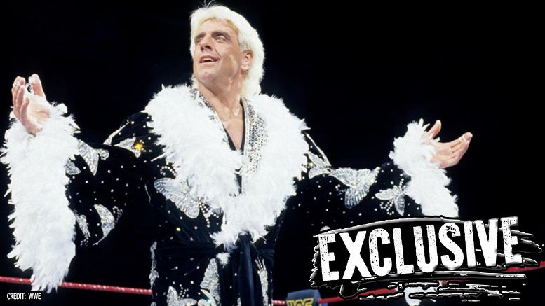 ric flair statue, wwe, hall of fame, axxess, wrestlemania 33, wrestling