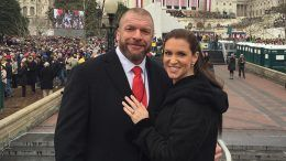 inauguration stephanie mcmahon triple h linda wwe wrestling donald trump president