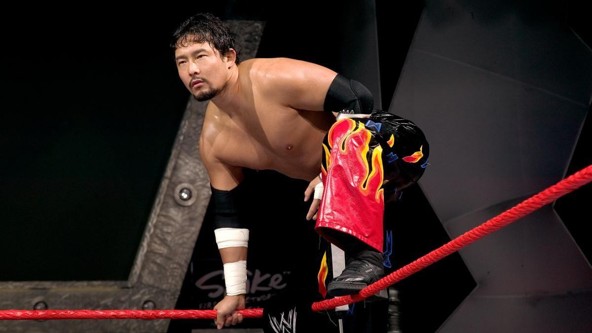 tajiri injured wwe nxt 205 live wrestler wrestling