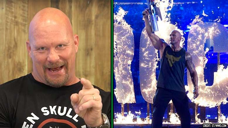 the rock stone cold wrestlemania 31 video interview