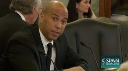cory booker triple h linda mcmahon senate confirmation hearing video