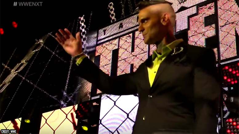 corey graves nxt farewell video