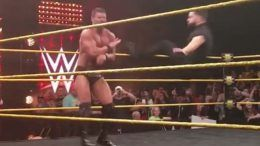 finn balor return nxt wwe video physical bobby roode not cleared